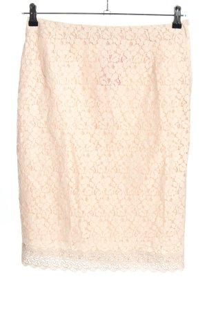 H&M Spitzenrock pink Elegant