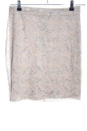 H&M Lace Skirt natural white elegant