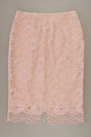 H&M Koronkowa spódnica stary róż-różany-jasny różowy-różowy Poliamid