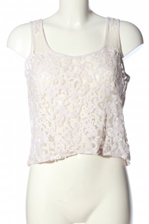 H&M Kanten topje wit casual uitstraling