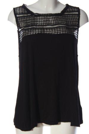 H&M Top di merletto nero stile casual