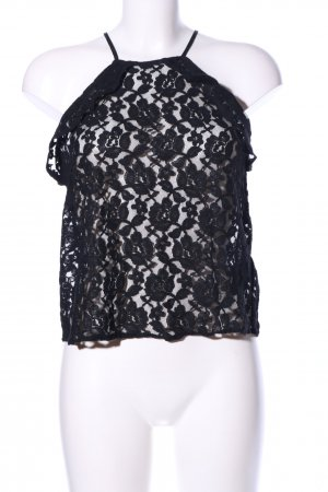 H&M Lace Top black elegant