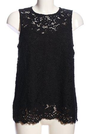 H&M Kanten topje zwart elegant