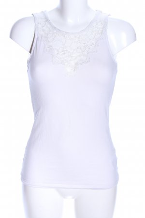 H&M Lace Top white casual look