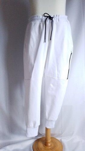 H&M Sport pantalonera blanco-negro