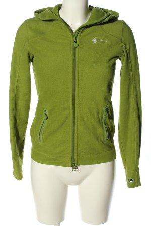H&M Sport Kapuzenjacke grün sportlicher Stil