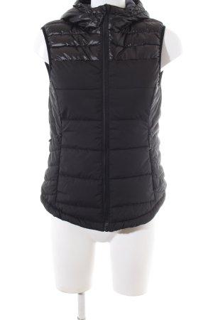 H&M Sport Gilet à capuche noir style décontracté