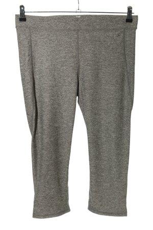 H&M Sport Leggings gris claro moteado estilo sencillo