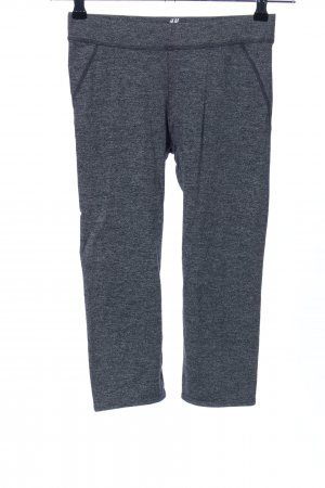 H&M Sport Leggings hellgrau meliert Casual-Look