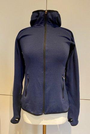 H&M Sport Outdoor Jacke Laufjacke Joggen S 36 blau Fitness