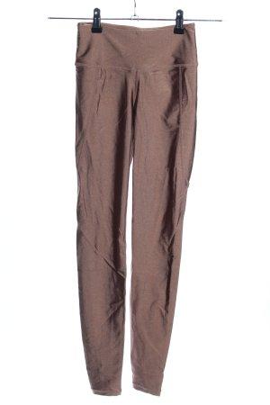 H&M Sport Sporthose bronzefarben sportlicher Stil