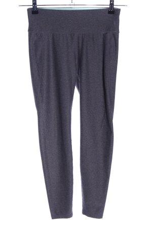 H&M Sport Pantalone da ginnastica grigio chiaro puntinato stile casual