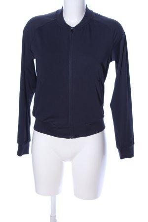 H&M Sport Sportjacke blau Casual-Look
