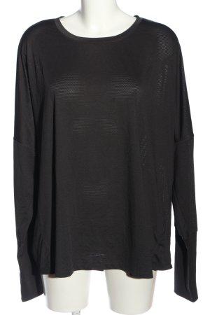 H&M Sport Sports Shirt black casual look