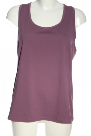 H&M Sport Sporttop lila Casual-Look