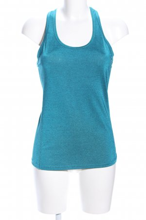 H&M Sport Sporttop blauw casual uitstraling