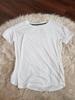 h&m sport T-Shirt gr. S damen in weiss kaum getragen