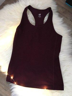 H&M Sports Tank brown violet