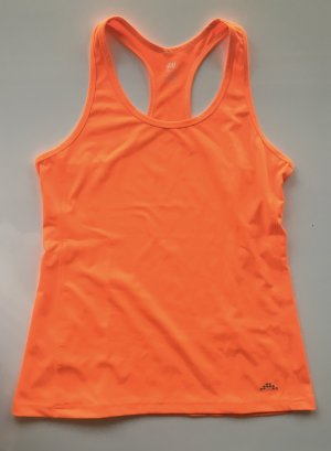 H&M Sport Top in neon orange Größe M