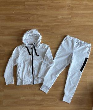 H&M Sport Leisure suit white-black