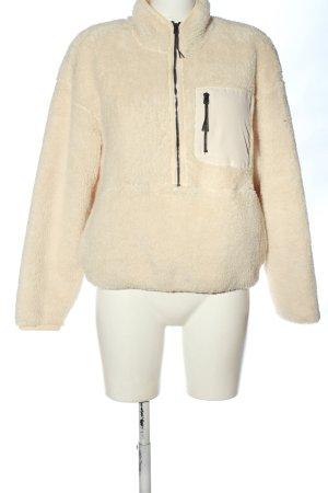 H&M Sport Jersey marinero crema look casual