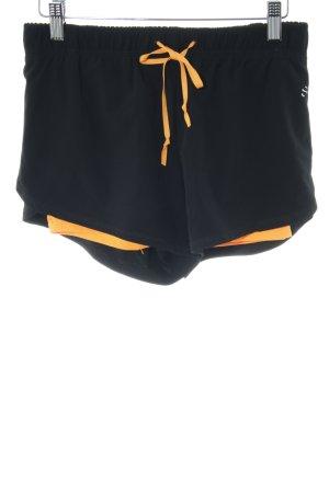 H&M Sporthose schwarz-hellorange Casual-Look