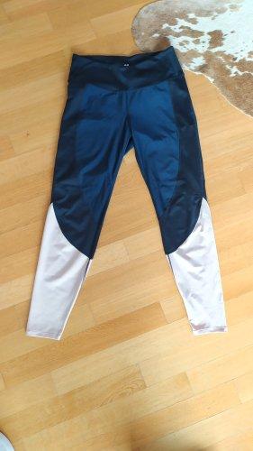 H&M Sporthose Gr M dunkelblau rose wie neu
