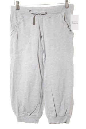 H&M Sporthose hellgrau Casual-Look