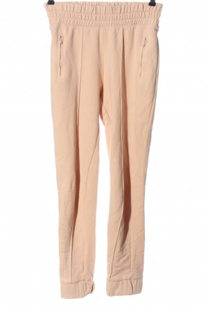H&M Sporthose nude Zopfmuster Casual-Look