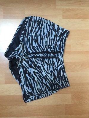 H&M Sporthose shorts S/36 schwarz grau