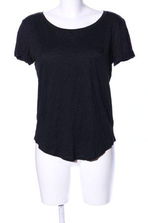 H&M Sportshirt schwarz Casual-Look