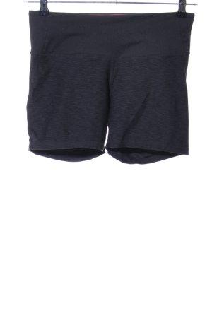 H&M Pantaloncino sport nero puntinato stile casual