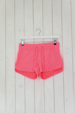 H&M Sportshorts Shorts Neon-Pink Gefüttert Gr.36