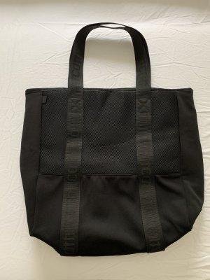 H&M Sporttasche in schwarz