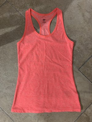 H&M Top deportivo sin mangas rosa
