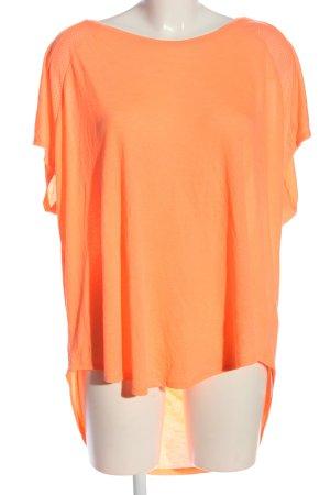 H&M Sporttop licht Oranje casual uitstraling
