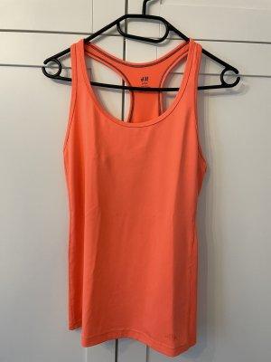 H&M Sporttop Gr. S Orange