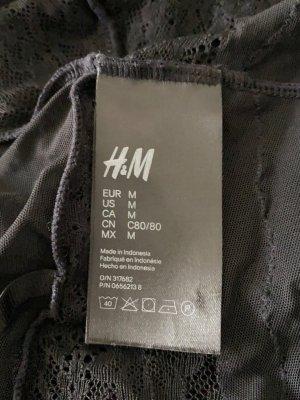 H&M Corsage noir