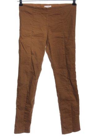 H&M Pantalón con estribo marrón look casual