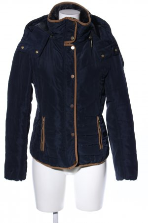 H&M Quilted Jacket blue casual look