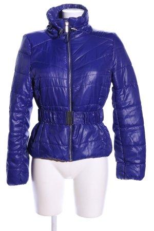 H&M Steppjacke blau Steppmuster Casual-Look