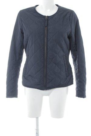 H&M Steppjacke dunkelblau Steppmuster Casual-Look