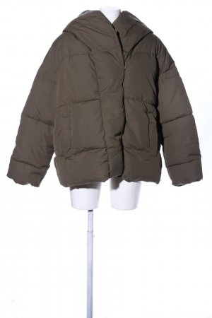 H&M Steppjacke khaki Steppmuster Casual-Look