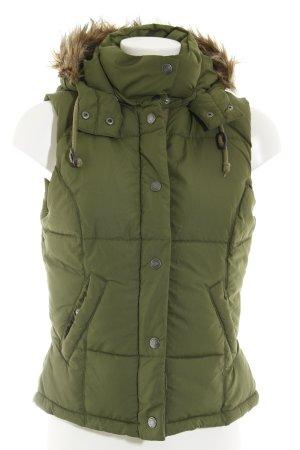 H&M Steppjacke grün Casual-Look