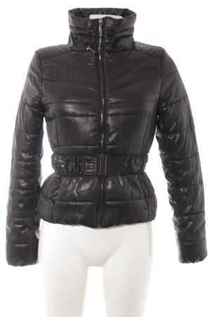 H&M Steppjacke schwarz Casual-Look