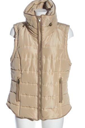 H&M Gilet matelassé blanc cassé motif de courtepointe style décontracté