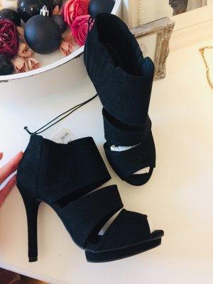 H&M Stivaletto spuntato nero