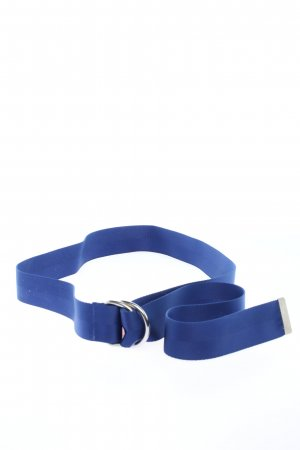 H&M Fabric Belt blue casual look