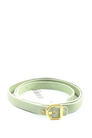 H&M Cinturón de tela verde look casual