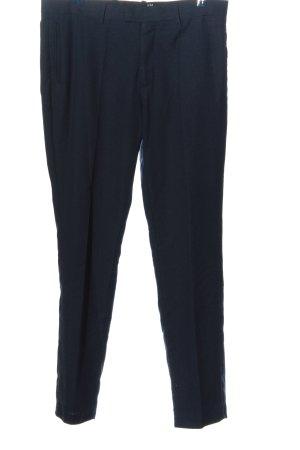 H&M Pantalon en jersey bleu style d'affaires